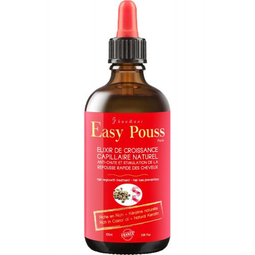 Elixir de croissance capillaire cheveux épais