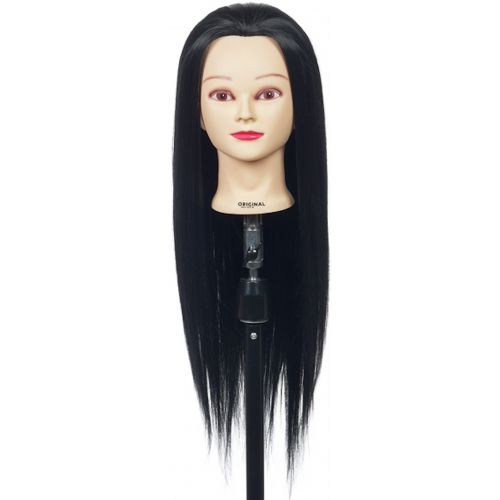 Tête D'apprentissage Jessy Cheveux Noirs