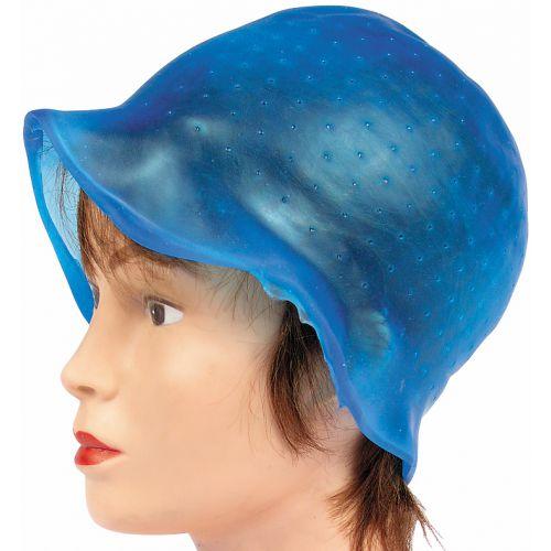 Bonnet Silicone Bleu avec crochet