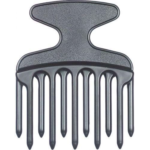 Peigne Afro Plastique Dents Décallées