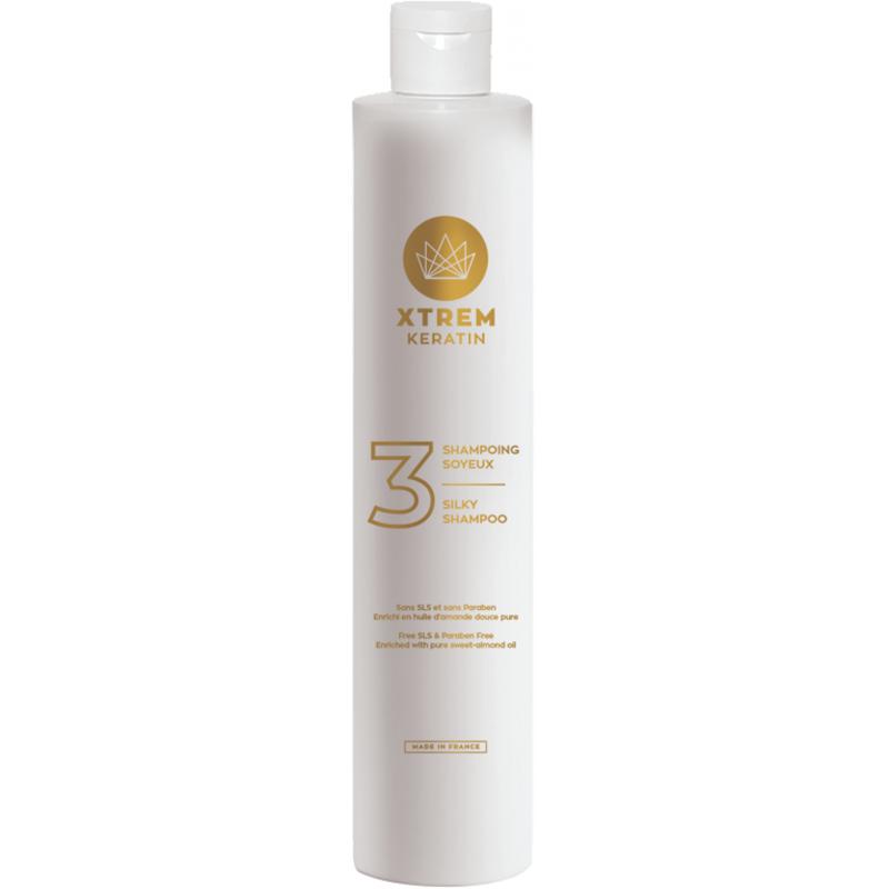 Xtrem Keratin Shampoing Proteines de Soie N°3