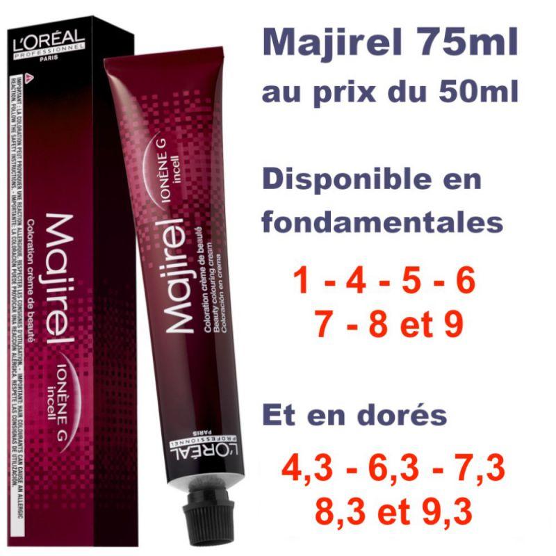 Majirel Tube XL 75ml + 50% offert