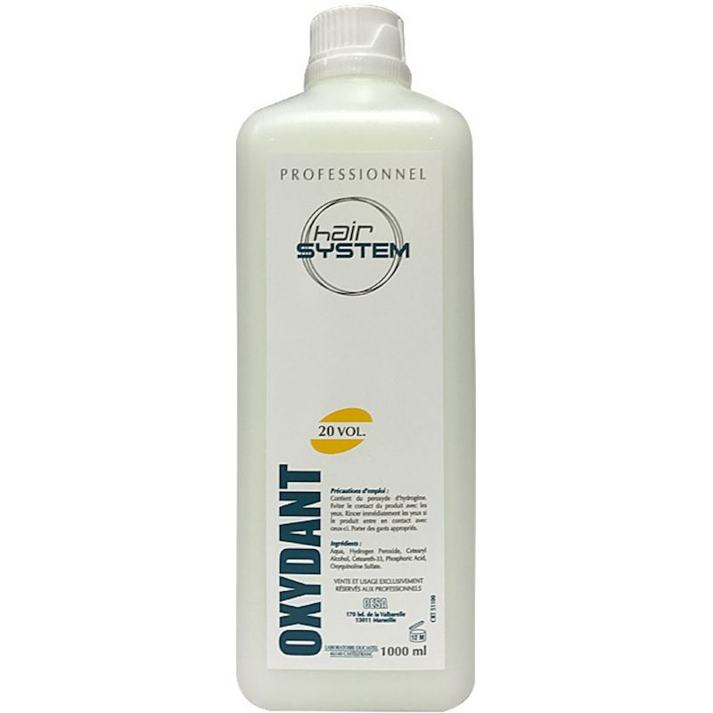 Oxydant Professionnel 1000 ml
