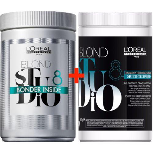 Duo Poudre Blond Studio 8 + 8 Bonder Inside