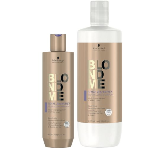 BlondMe Shampooing Neutralisant Cool Blondes