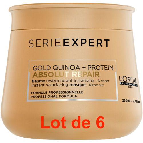 Serie Expert Absolut Repair Gold Masque Lot de 6