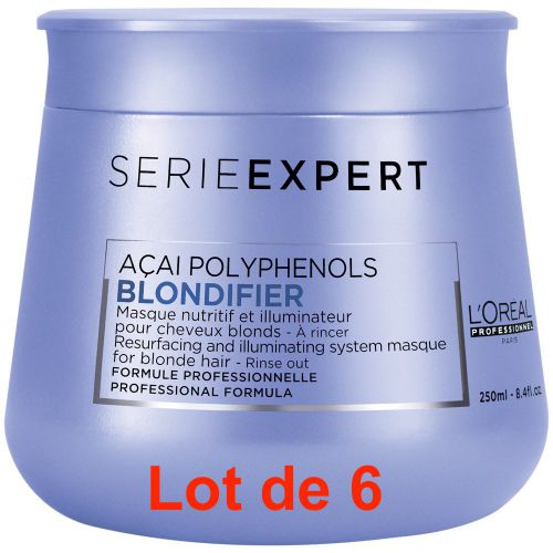 Serie Expert Blondifier Masque Lot de 6