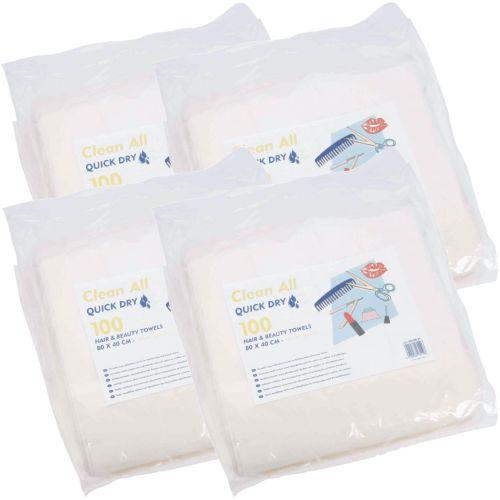 Serviettes Jetables Quick Dry Carton de 4 Paquets de 100