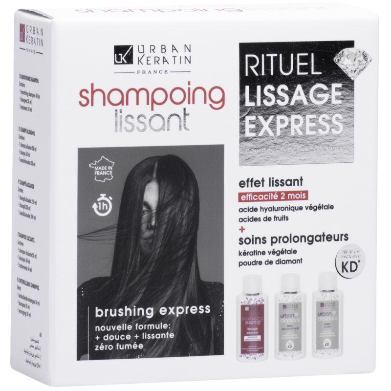 Urban Shampoing Lissant Diamant Kit 3 X 50 ml