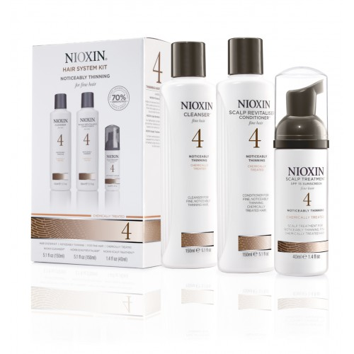 Kit Anti-chute Hair System Nioxin N°4