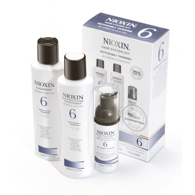 Kit Anti-chute Hair System Nioxin N°6
