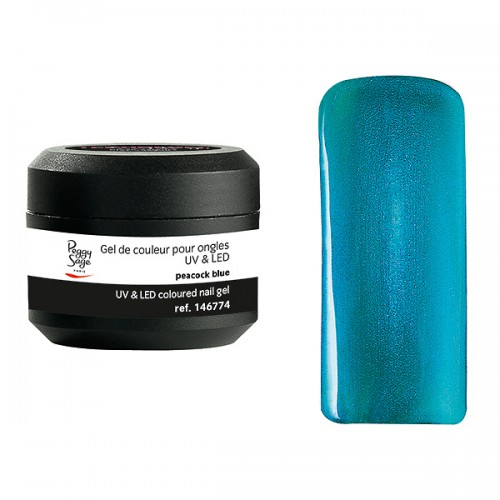 Gel UV/LED Color it Peacock Blue 146774