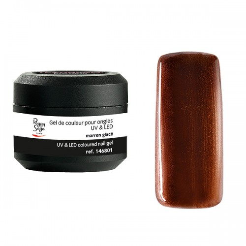 Gel UV/LED Color it Marron glacé 146801