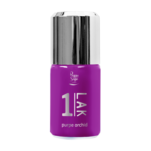 Vernis semi-permanent 1-LAK purple orchid 181020