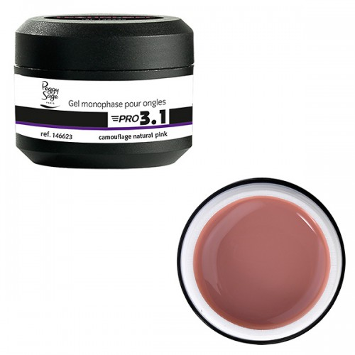 Gel Pro 3.1 Camouflage Natural Pink 146623