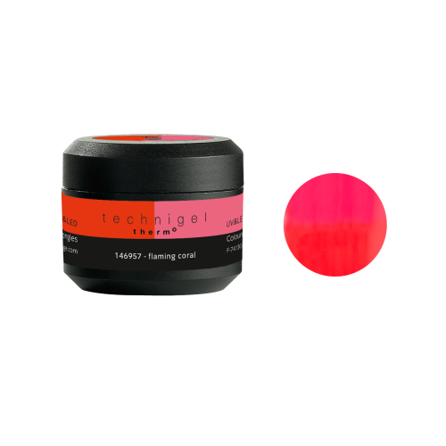 Gel UV/LED Thermo flaming coral 146956