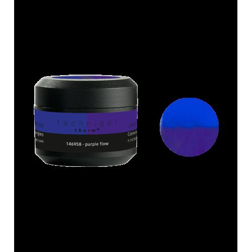Gel UV/LED Thermo purple flow 146958