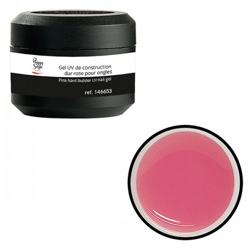 Gel UV de construction dur rose 146653