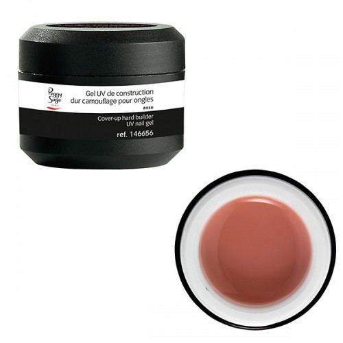 Gel UV de construction dur camouflage rose 146656