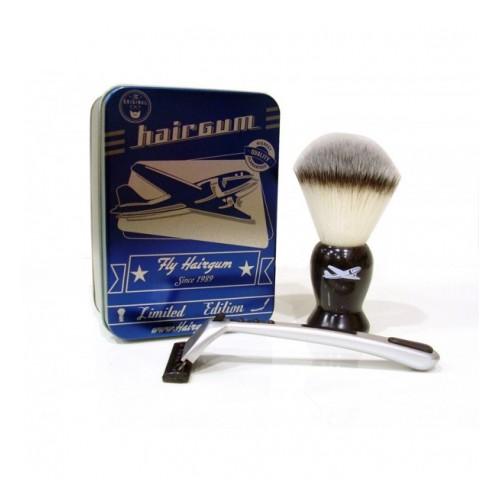 Kit Barber 1 blaireau + 1 rasoir