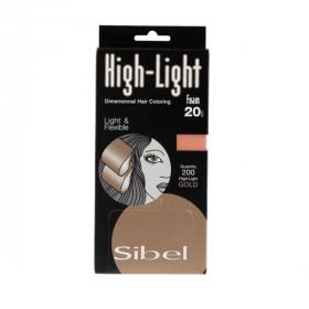 Papier Meches High-Light Foam Gold 9,5X20cm