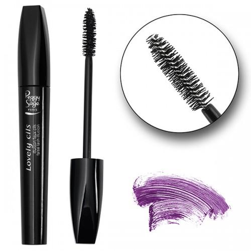 Mascara Lovely cils 10ml violet 130646