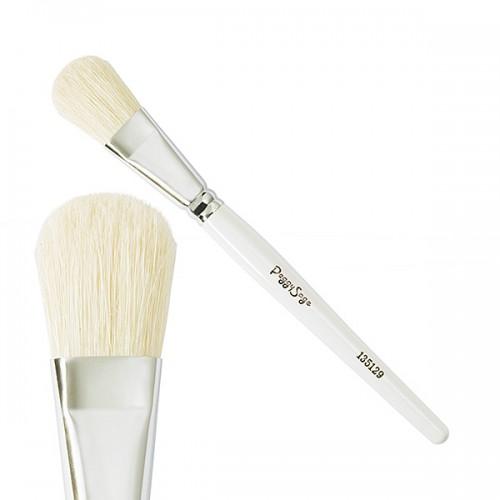 Pinceau masque soie blanche 135129