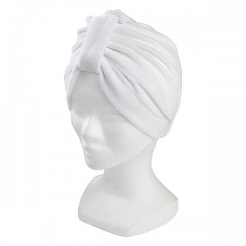 Bonnet turban blanc 160013