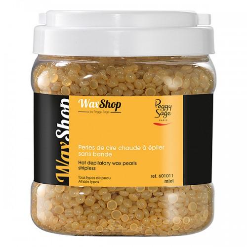 Perles de cire chaude à epiler 1kg miel 601011