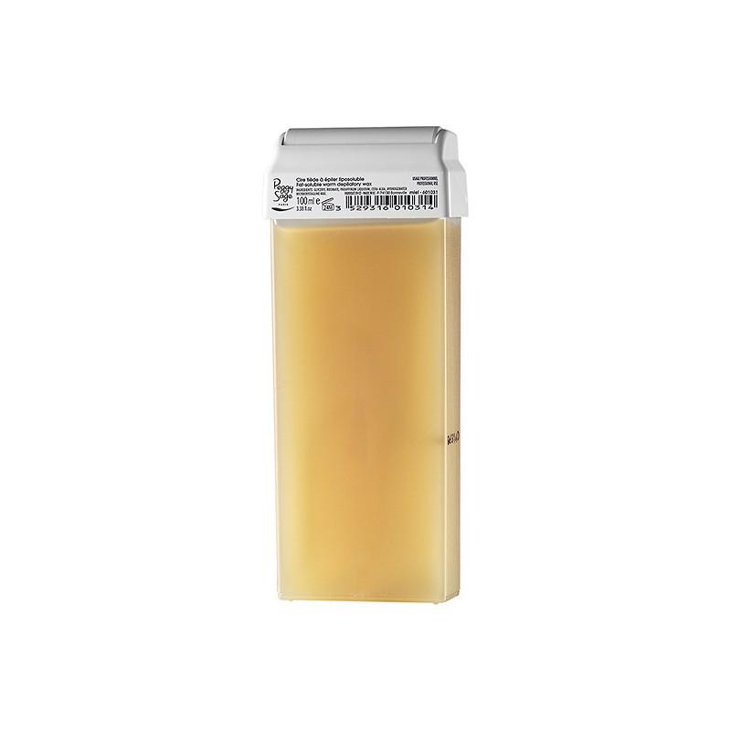 Cartouche cire tiède à épiler 100ml miel 601031