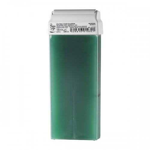 Cartouche cire tiède à épiler 100ml vert 601032