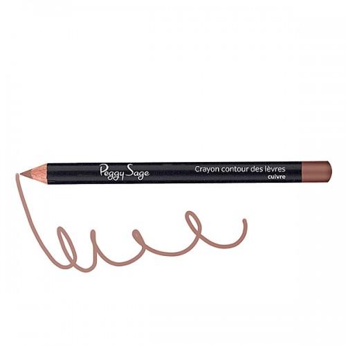 Crayon contour des lèvres cuivre 130104