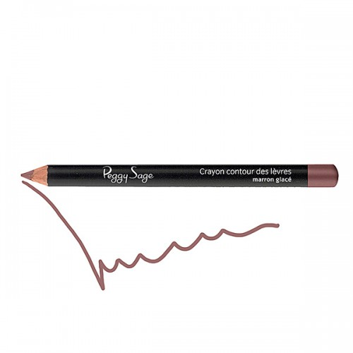 Crayon contour des lèvres marron glacé 130116