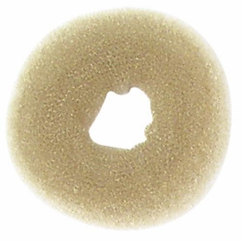 Crépon À Chignon Rond Blond 12 cm