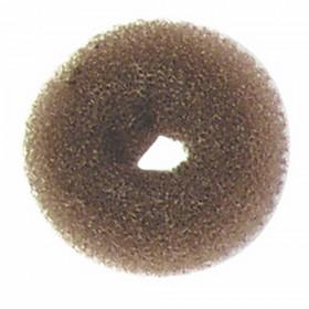 Crépon À Chignon Rond Châtain 8 cm