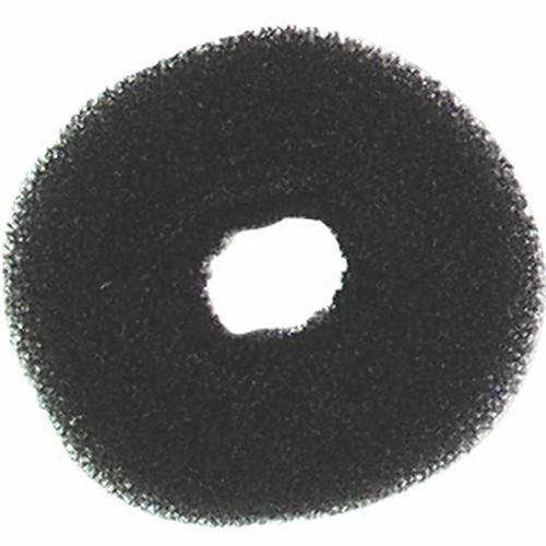 Crépon À Chignon Rond Noir 12 cm