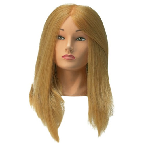 Tête D'Apprentissage Jessica Cheveux Blonds 35-45cm