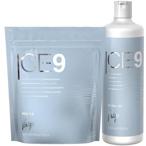 Ice 9 Extrème Blonde Kit Poudre + Oxydant