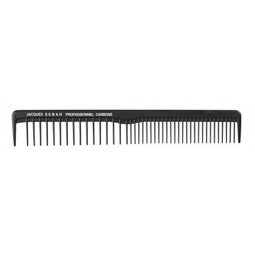 Peigne à cheveux carbone spécial fondus 18,2 cm
