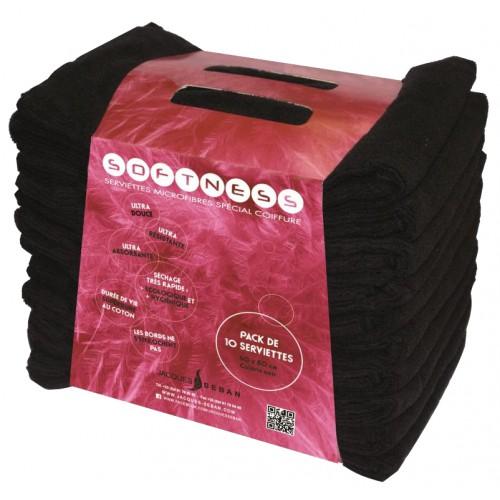 Serviettes de coiffure microfibres (par 10)