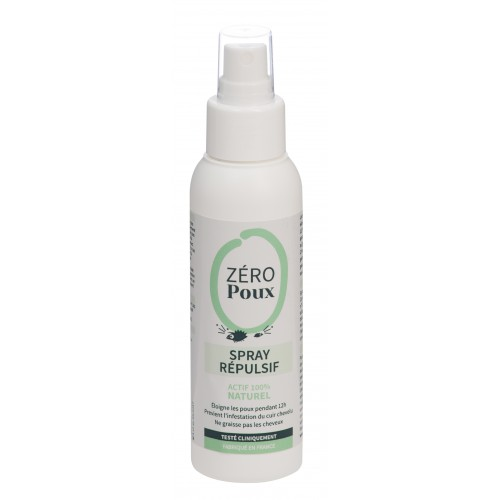 Zéro Poux Spray Répulsif