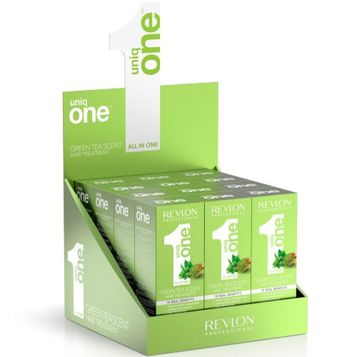 Lot de 12 Spray Masque Uniq One Green Tea