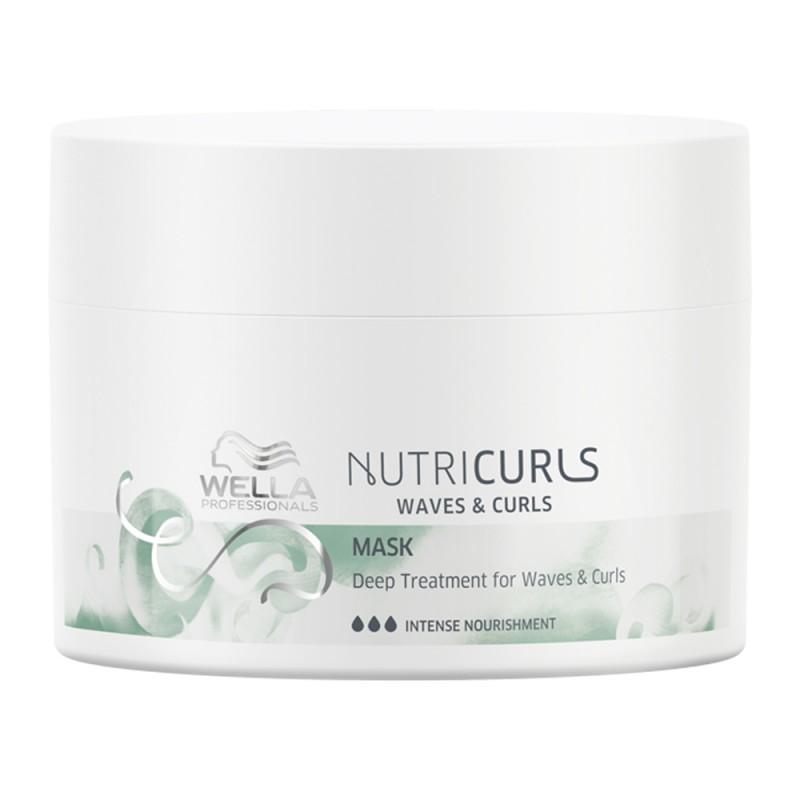 Nutri Curls Masque pour cheveux ondulés et bouclés