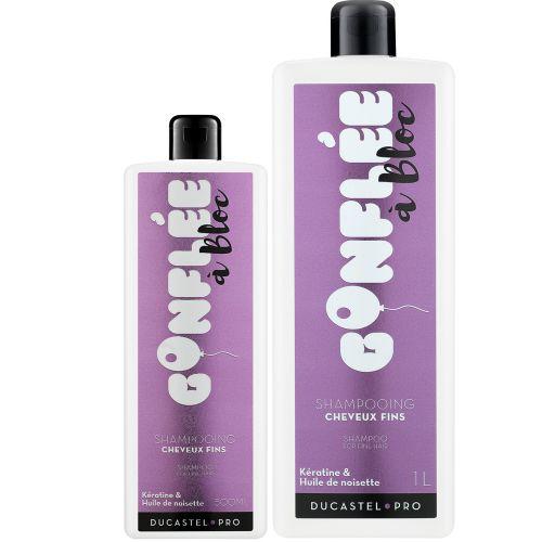 Shampoing Gonflée à Bloc Cheveux Fins