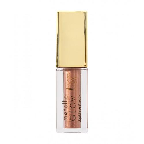 Ombre à paupières liquide Metallic Glow golden rose 851025