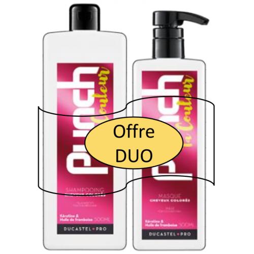 Duo Cheveux Colorés Professionnel
