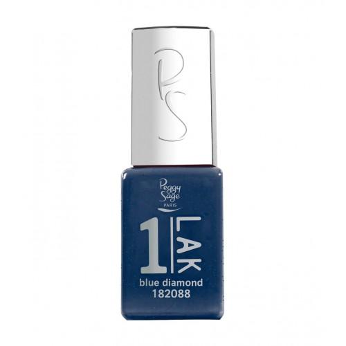 Vernis semi-permanent 1-LAK Blue diamond 182088