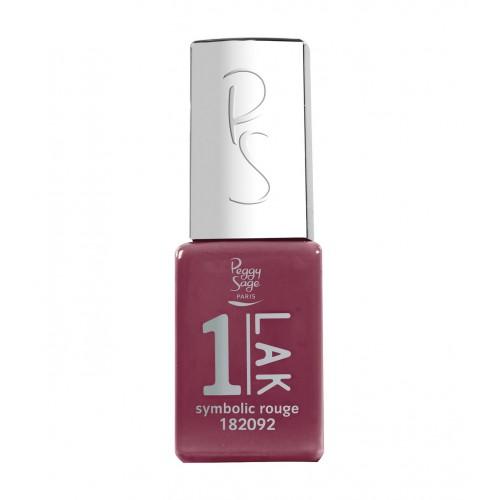 Vernis semi-permanent 1-LAK Symbolic rouge 182092