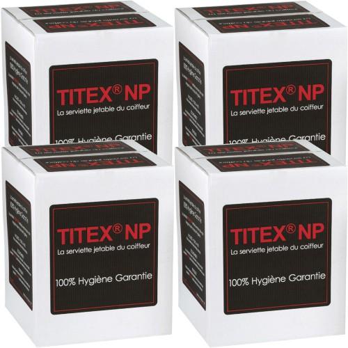 Serviettes Jetables Titex Carton de 4 Rouleaux de 50