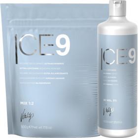Ice 9 Kit Extrème Blonde Poudre + Oxydant